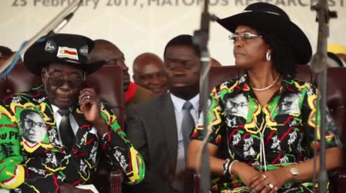 Zimbabwe: Thousands celebrate Mugabe's 93rd birthday