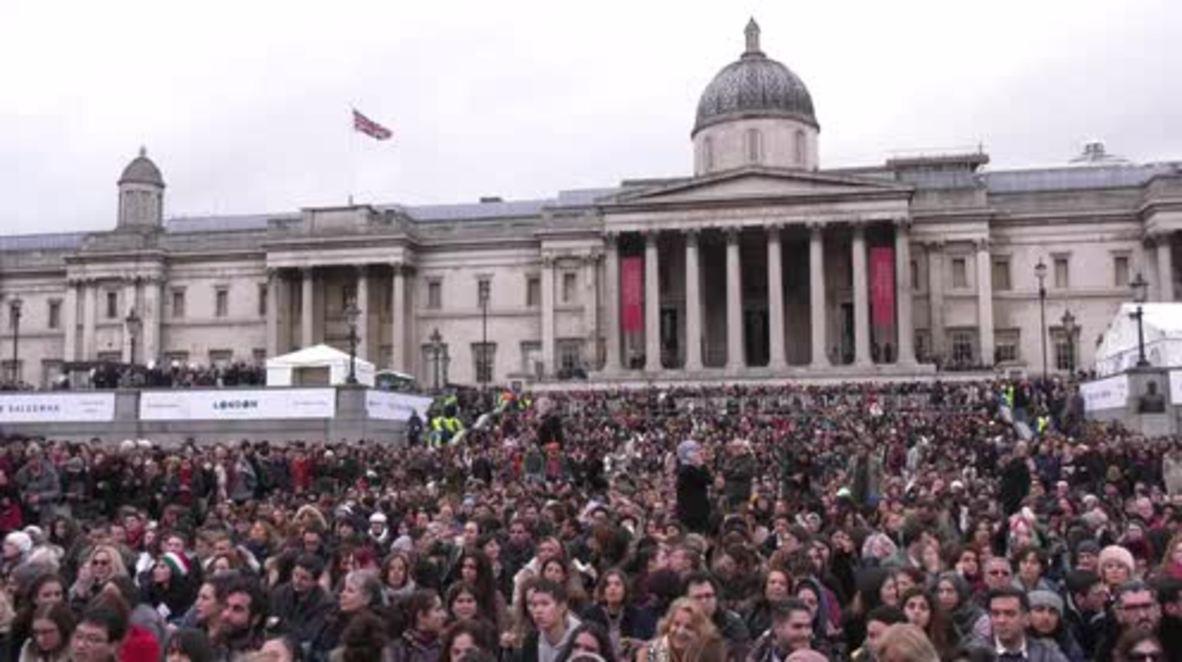 UK: 'President Trump can't silence me' - Sadiq Khan at protest screening of Iranian film in London