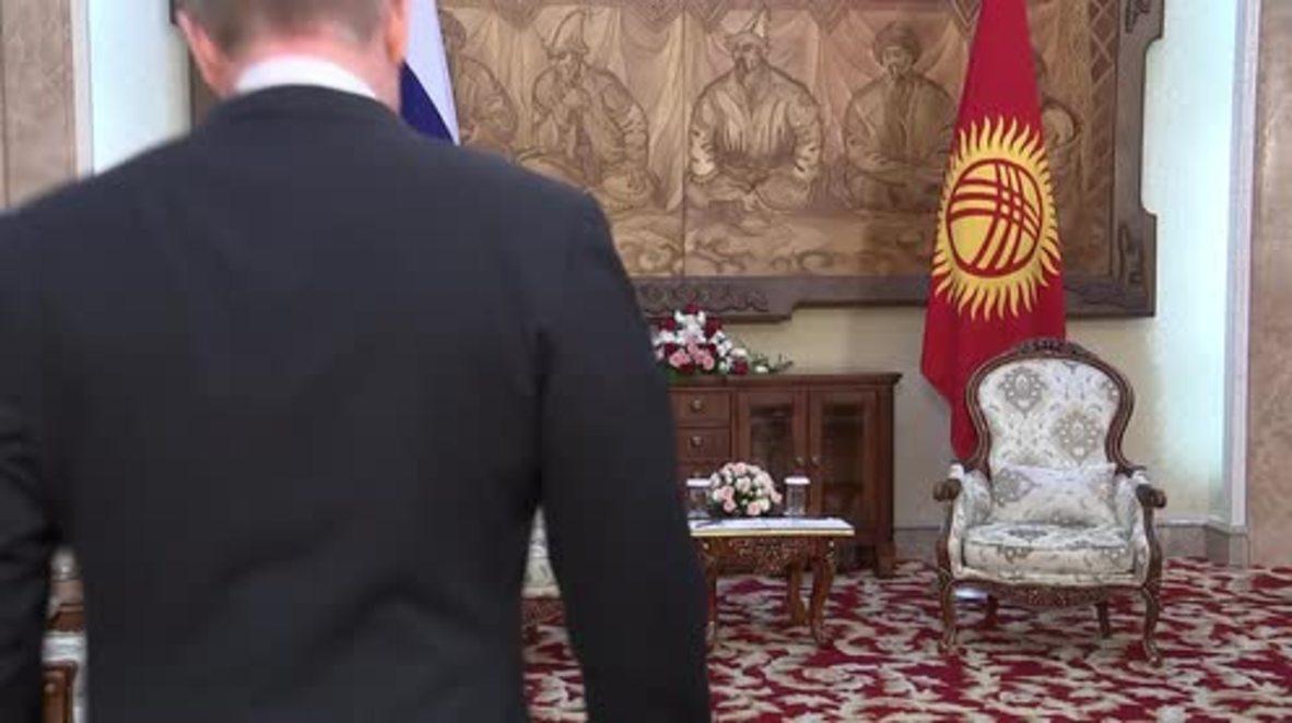 Kyrgyzstan: Putin and Atambayev laud Russia-Kyrgyz partnership in Bishkek