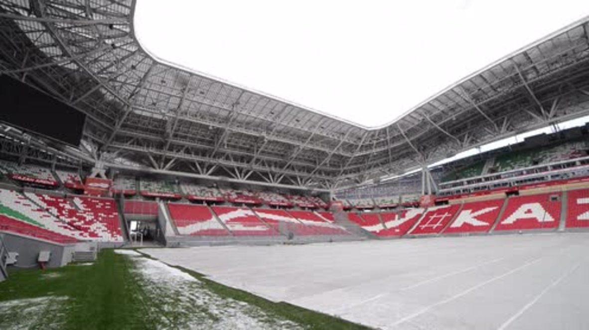 Russia: FIFA inspect Kazan Arena ahead of Confederations Cup 2017