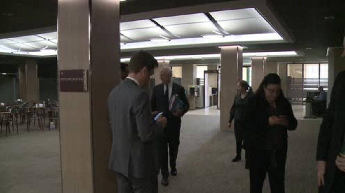 Switzerland: Jaafari and de Mistura continue UN-mediated Syria peace talks