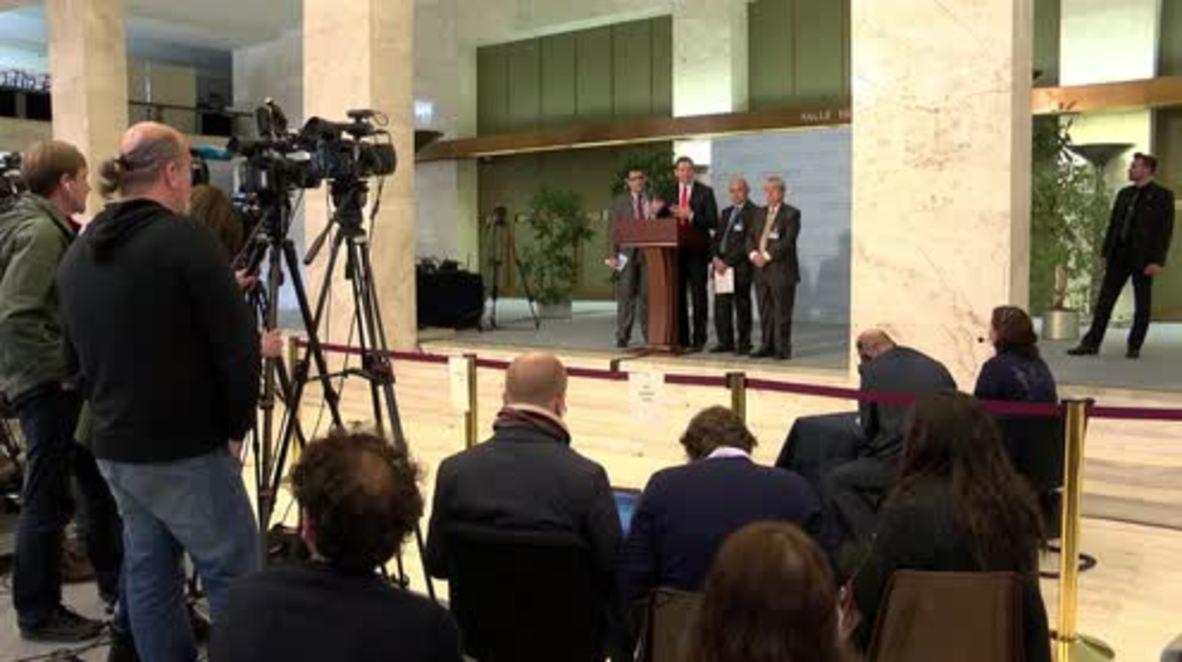 Switzerland: Next round of peace talks likely - Makdissi in Geneva