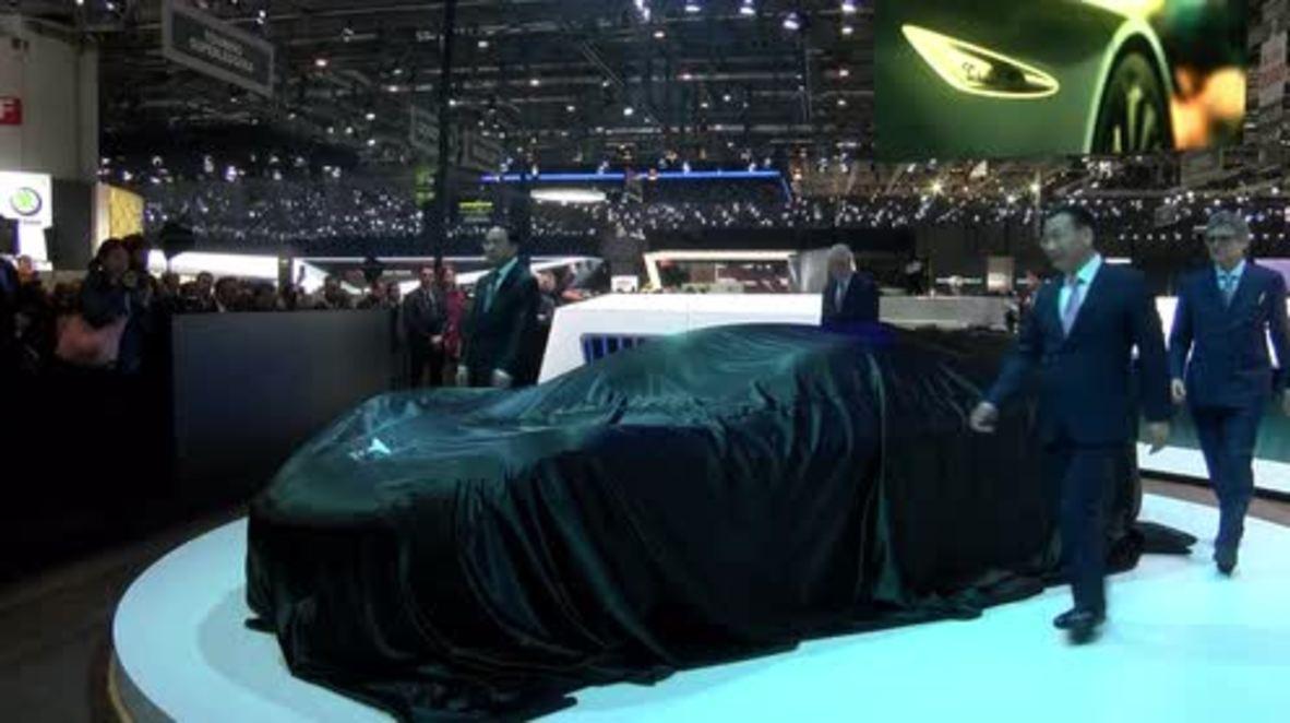 Switzerland: China's Techrules Ren supercar unveiled at Geneva Motor Show