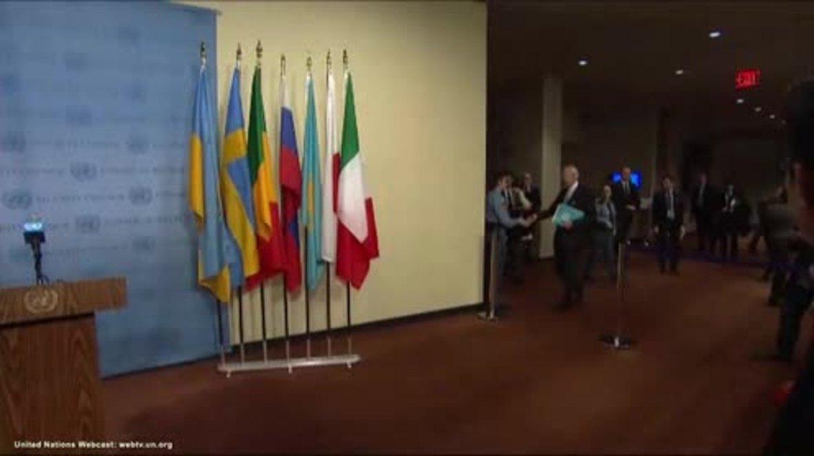 UN: Fifth round of intra-Syrian talks set for March 23 confirms de Mistura