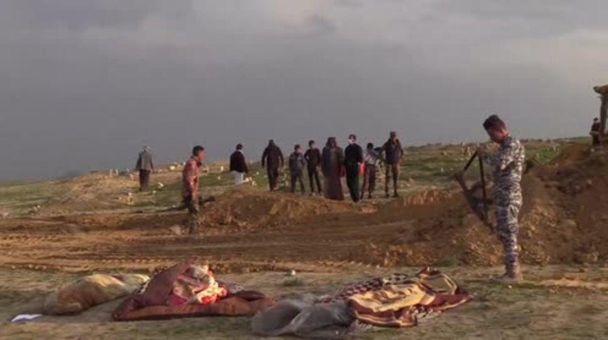 Iraq: Mass burials in Hamam al-Alil as Mosul battles continue to cause civilian deaths