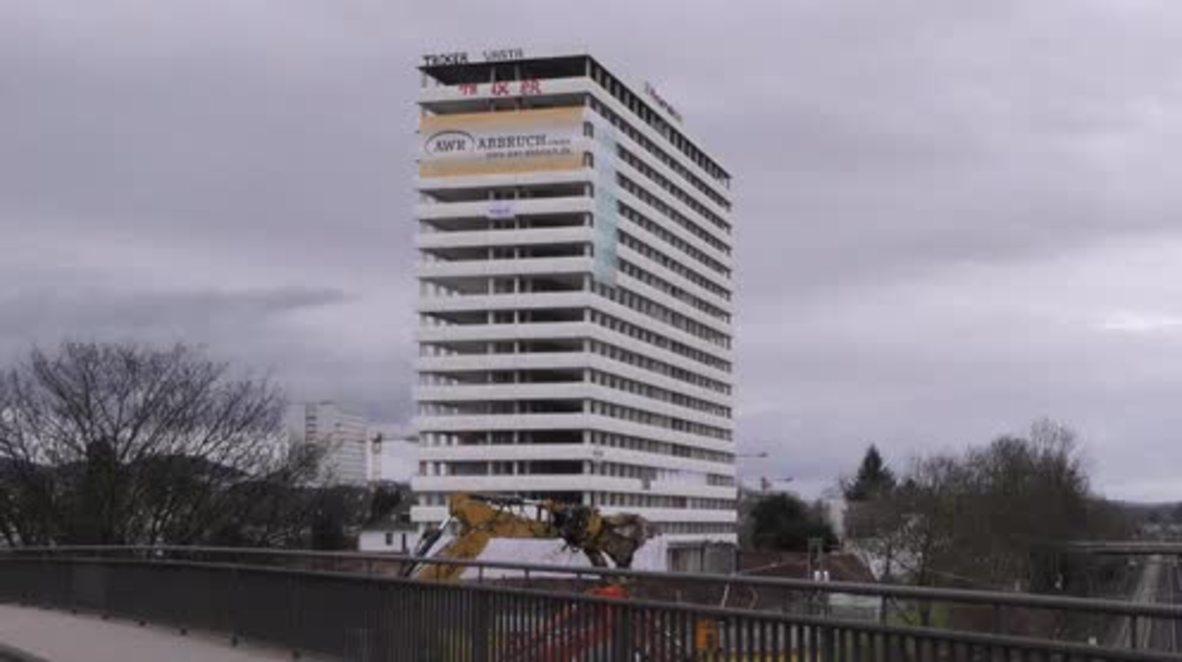 Germany: See Bonn-Center demolished using 250 kilos of explosives