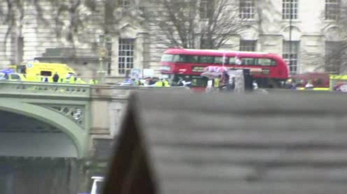 UK: Bodies, gunshots, a crunch of metal – eyewitnesses recount London attacks