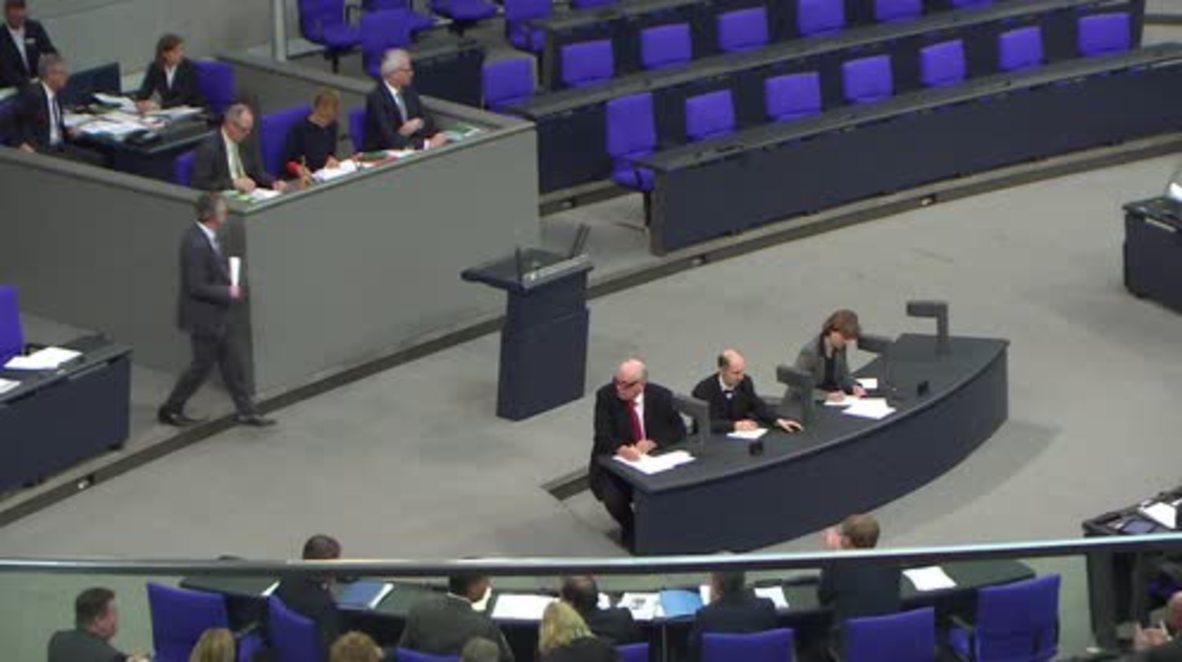 Germany: Berlin parliament begins debating draft law on increasing deportations