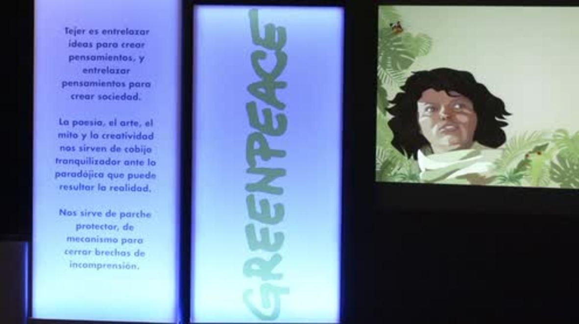 Spain: Greenpeace awards prize to murdered Honduran environmentalist Berta Caceres