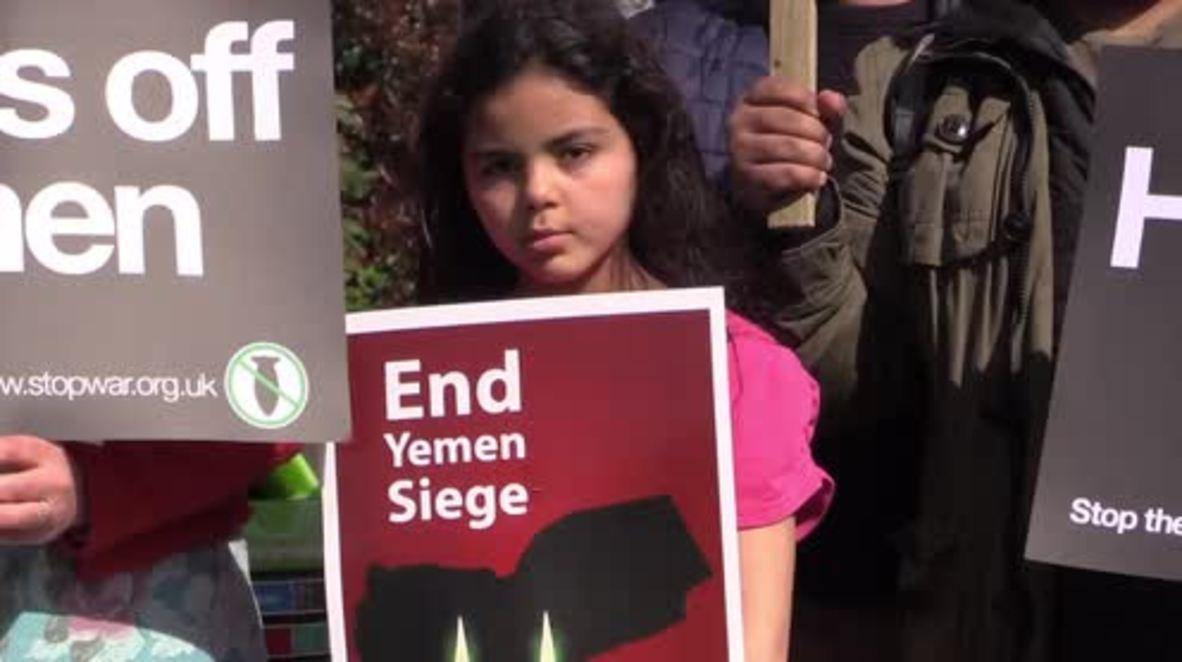 UK: Protesters slam BBC, demand coverage of Saudi-led war crimes in Yemen