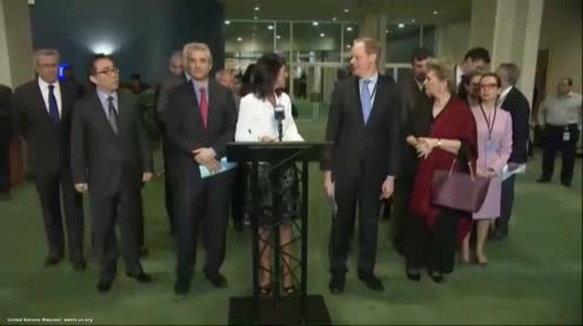 USA: World nuclear ban would leave North Korea 'cheering' – US Ambassador Haley