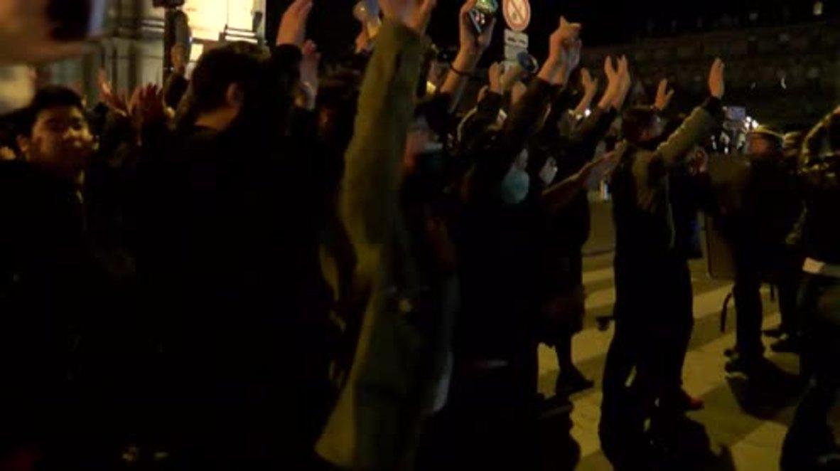 France: Violent clashes erupt as Paris protest escalates