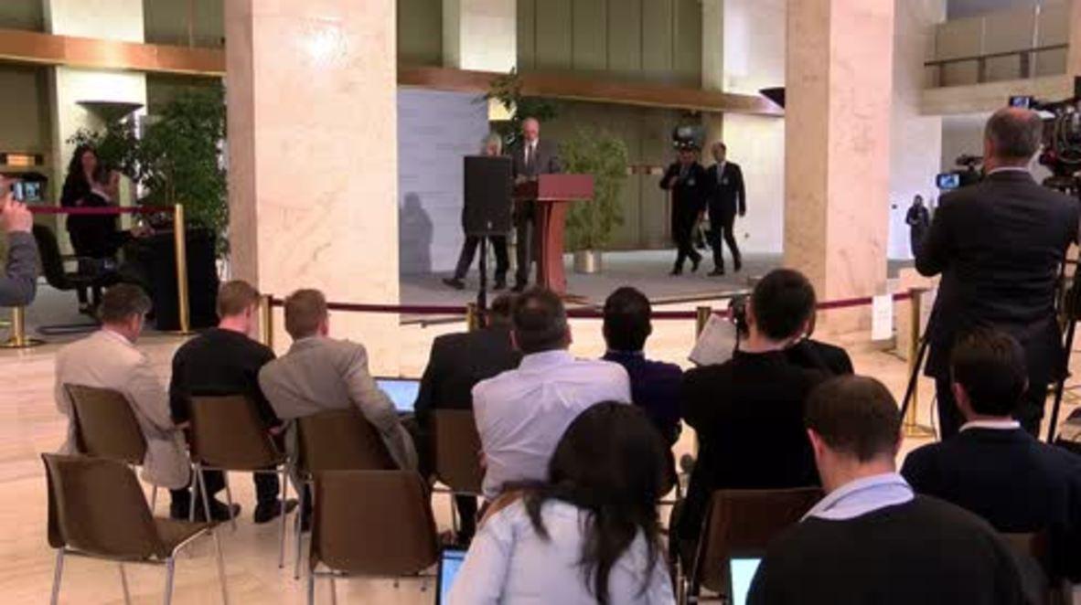 Switzerland: Opposition 'doesn't want to fight terrorism' - Jaafari