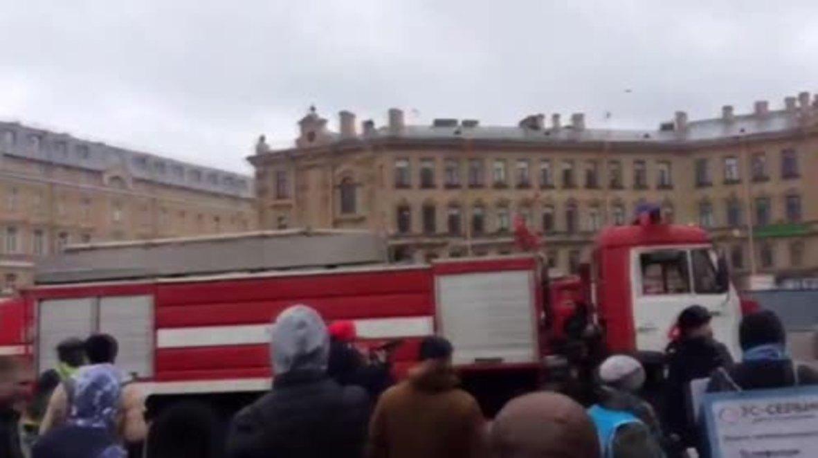 Russia: Explosion in St. Petersburg Metro kills at least 9