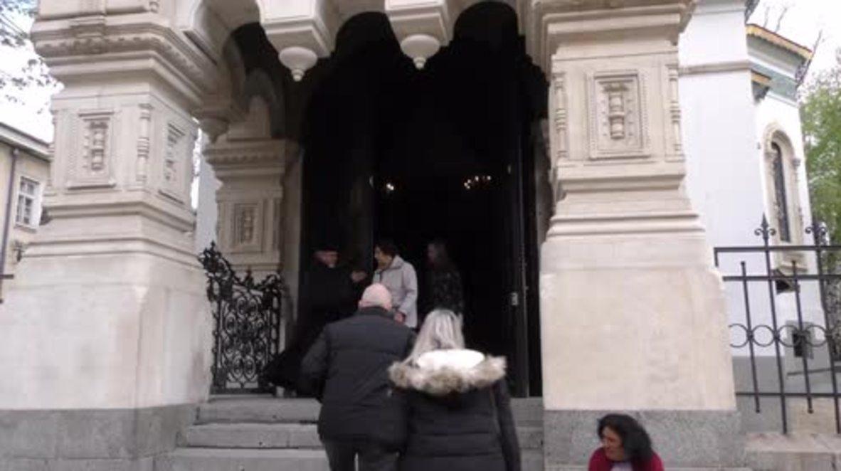 Bulgaria: Bulgaria mourns victims of St. Pete metro blast at Russian Orthodox Church