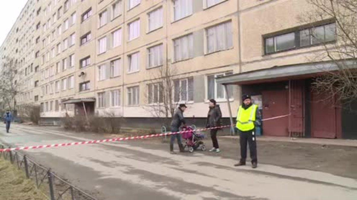 Russia: Improvised explosive device found in St. Petersburg apartment block