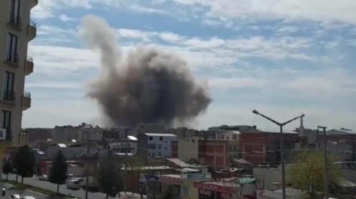 Turkey: Explosion at police building in Diyarbakir leaves several injured