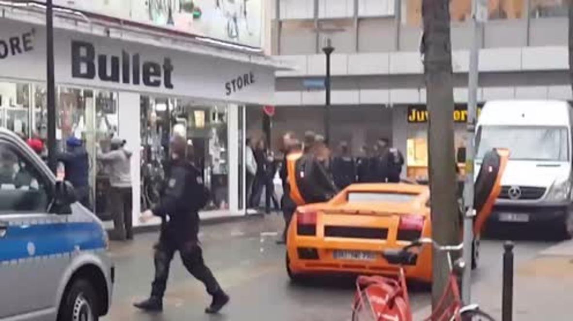 Germany: Fake gun leads armed police to shutdown Dortmund rapper's luxury video-shoot