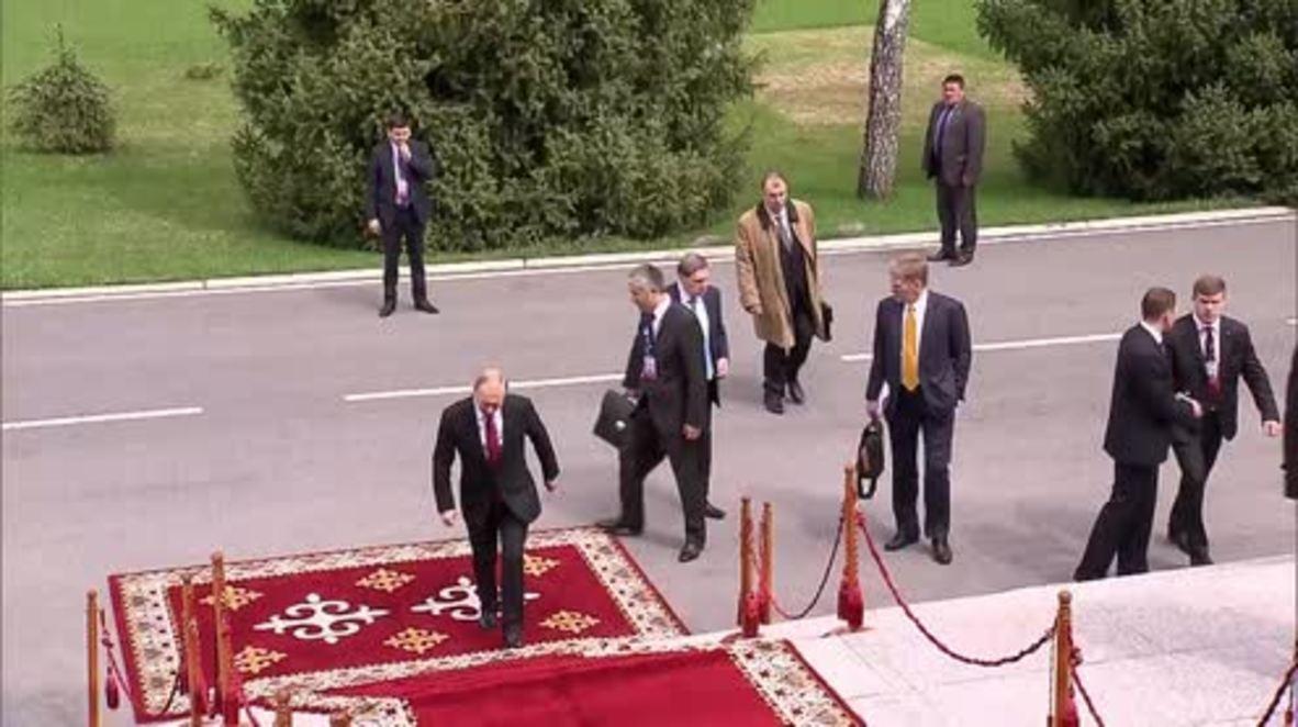 Kyrgyzstan: Supreme Eurasian Economic Council summit kicks off in Bishkek
