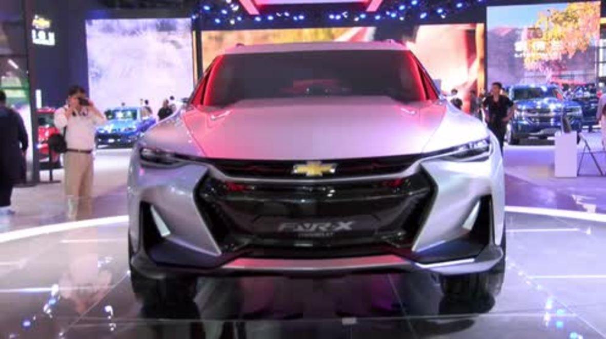 China: Chevrolet unveils stunning high-tech FNR-X concept at Shanghai Auto Show