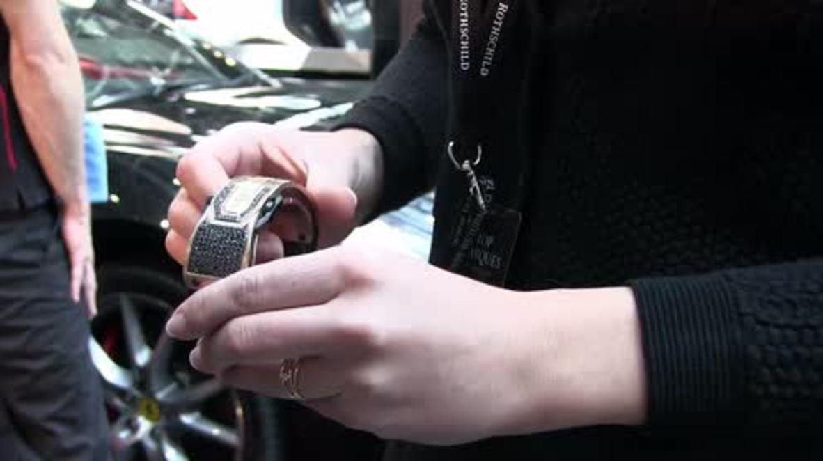 Monaco: €100,000 for CAR KEYS? This diamond-studded wearable tech can open your Ferrari