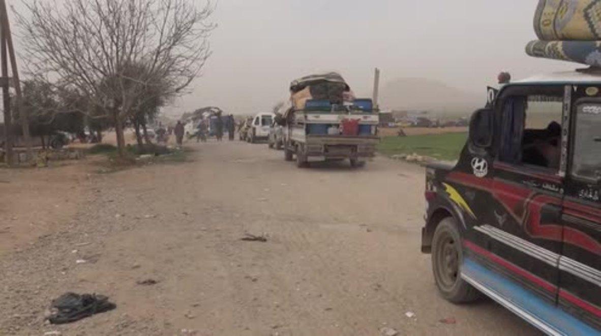 Syria: Over 10,000 civilians flee US shelling in Raqqa