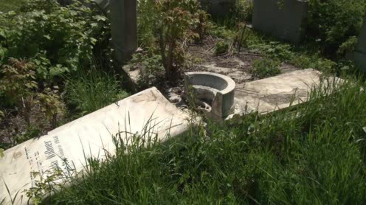 Romania: Jewish headstones vandalised at Bucharest cemetery