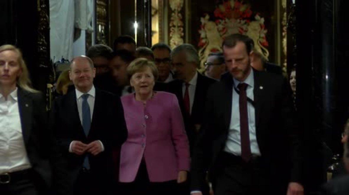 Germany: Syria safe zones a 'flicker of hope' - Merkel