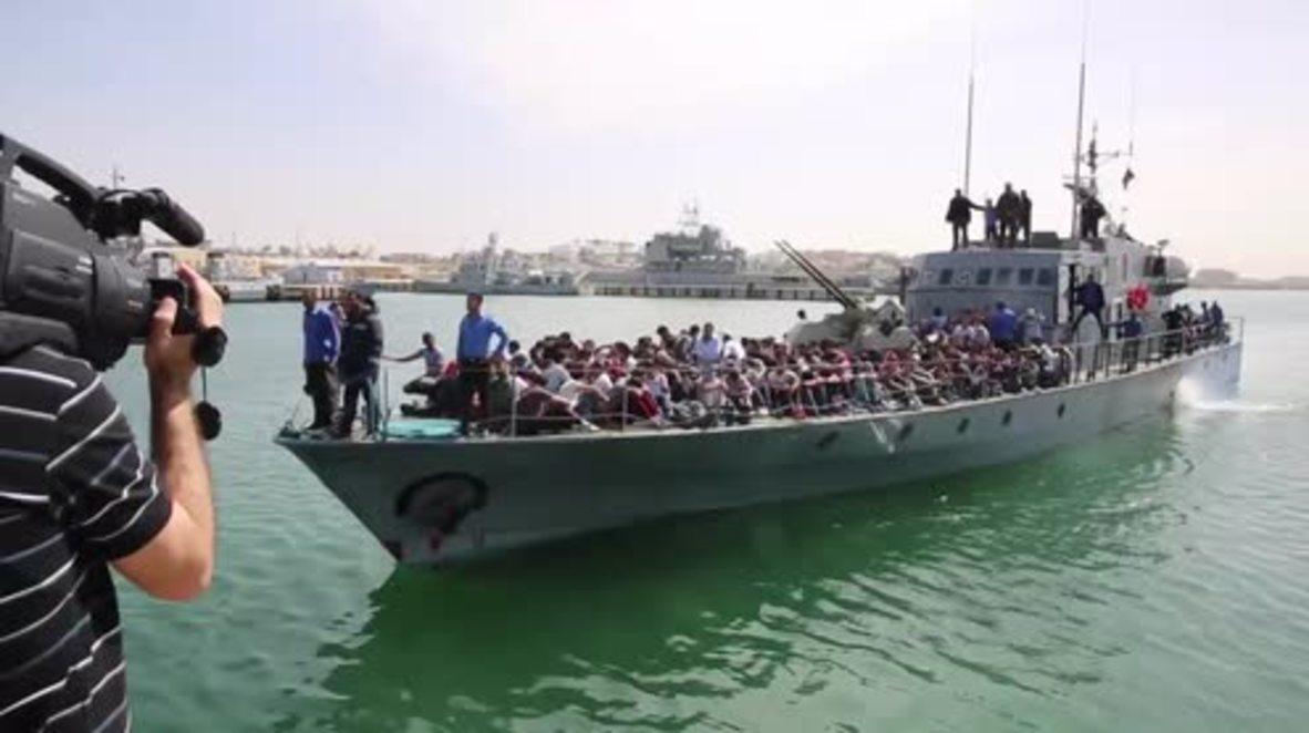 Libya: Hundreds more migrants returned to Tripoli after attempting Med. crossing