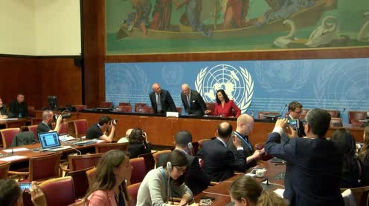 Switzerland: UN wraps up 6th round of Syria talks with 'incremental' progress made