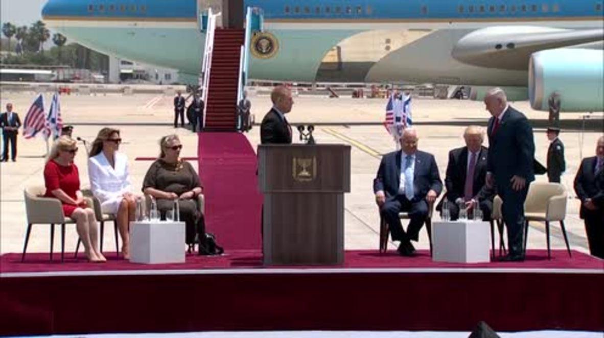 Israel: Trump and Netanyahu praise US-Israeli ties