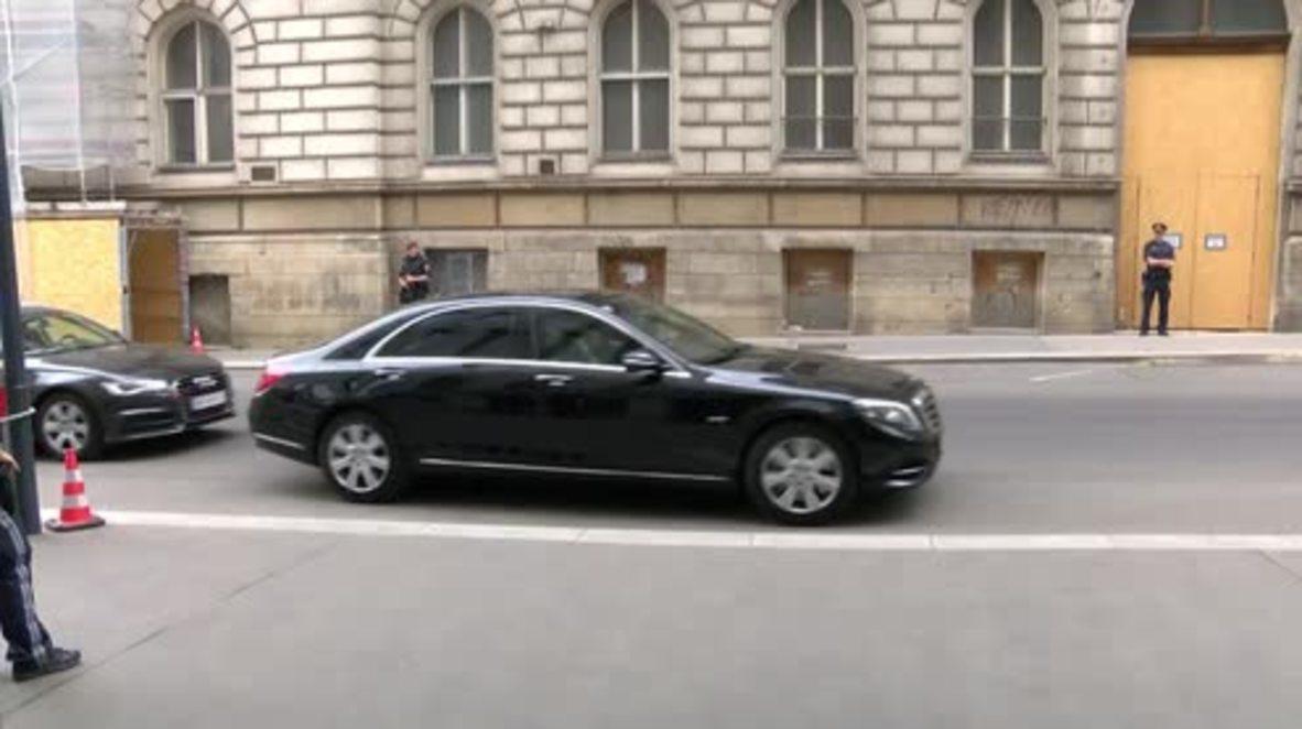 Austria: Russia's Novak arrives for JMMC meeting at OPEC headquarters