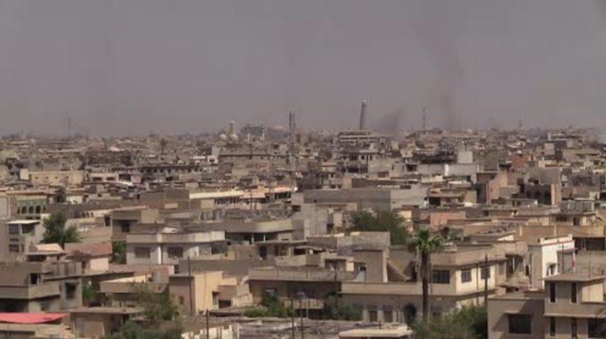 Iraq: Blast strikes close to Mosul's Al Nuri mosque as anti-IS op continues