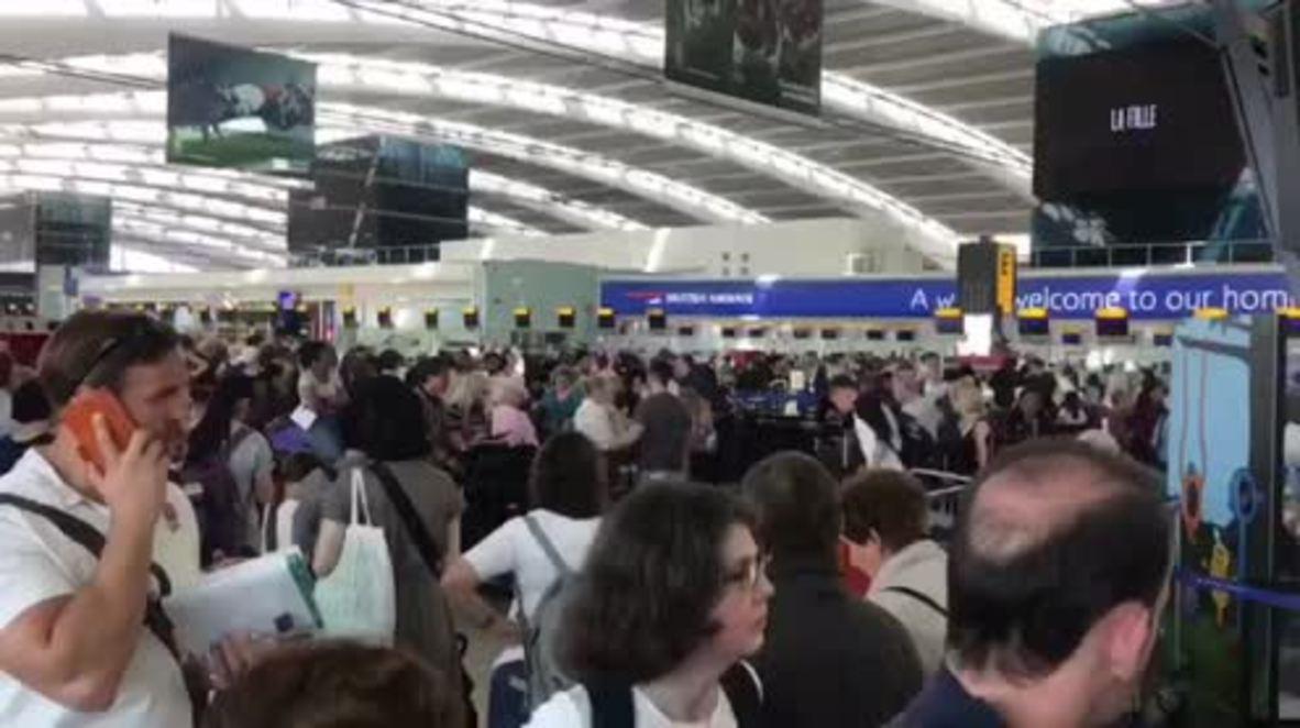 UK: Chaos in Heathrow as BA cancels flights amid global IT crash