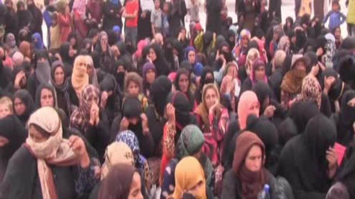 Syria: Displaced civilians recall US-led coalition airstrikes on Deir Ez-zor