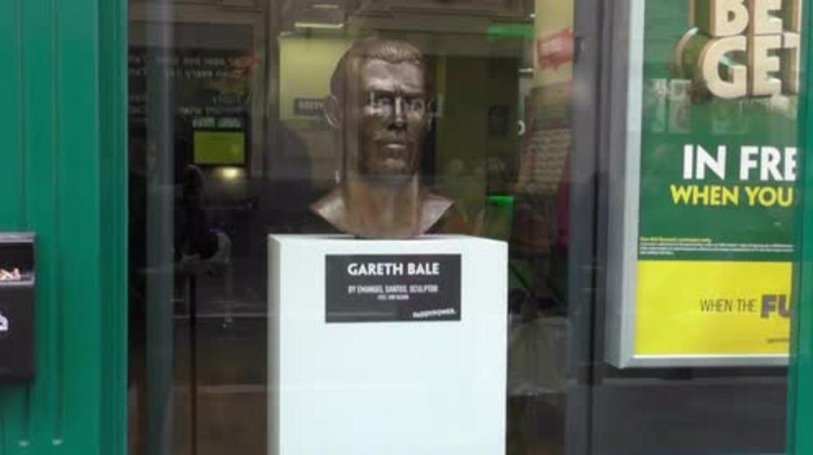 UK: Artist responsible for THAT Ronaldo statue sculpts bust of Gareth Bale