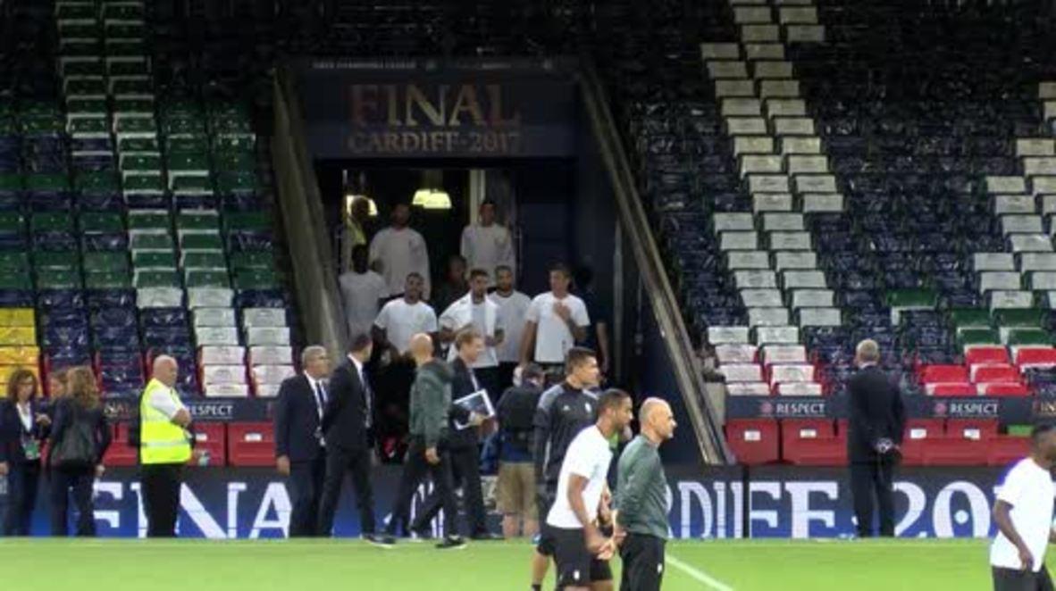 UK: Juventus gear up for Champion's League final match