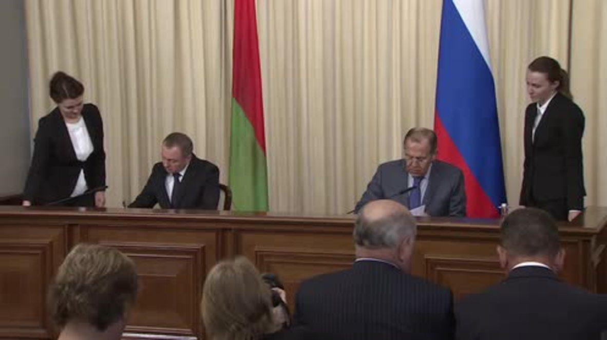 Russia: Lavrov denies Syria de-escalation zones signify Syria's breakup