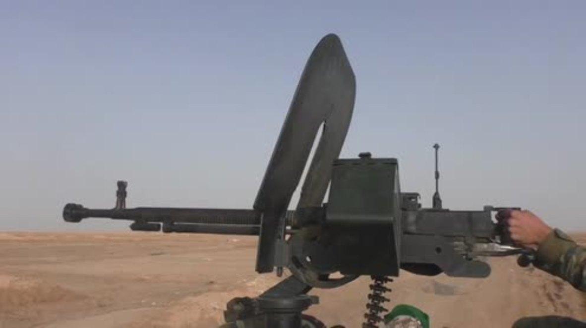Syria: SAA make gains against IS in eastern Homs