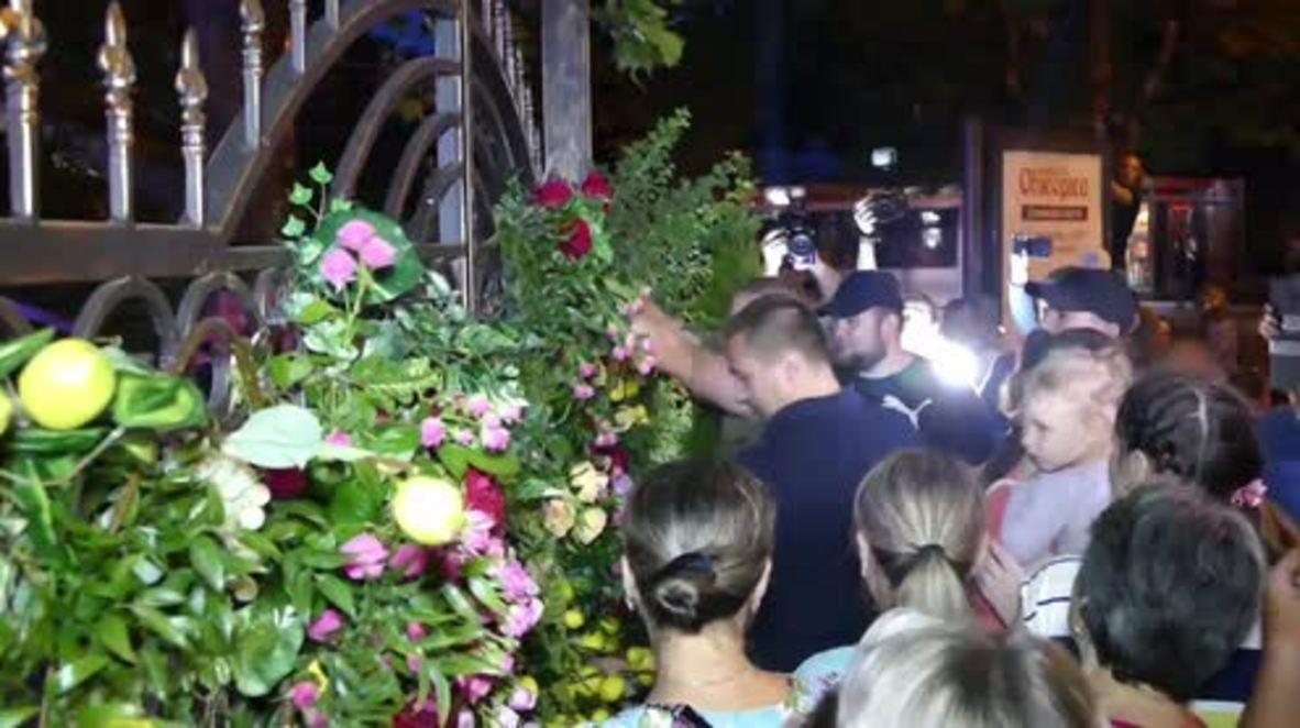 Ukraine: Far-right nationalists storm pop concert in Odessa