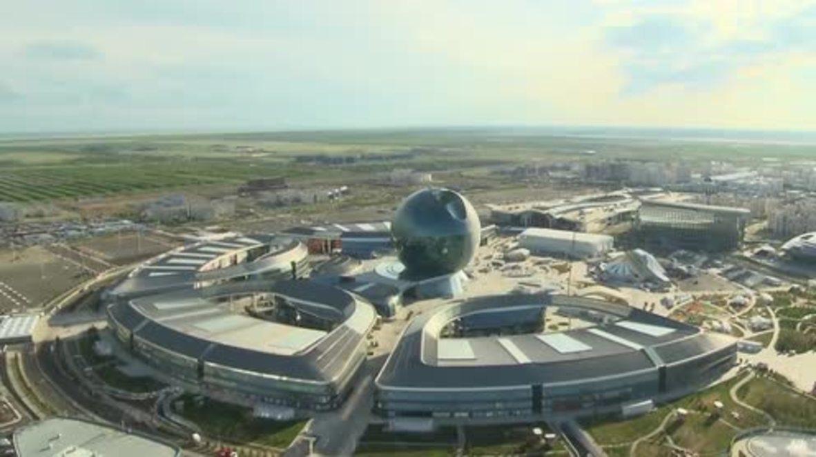 Kazakhstan: Putin attends opening ceremony of Astana Expo 2017