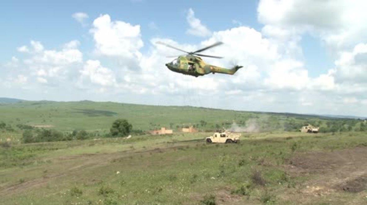 Romania: Large-scale NATO drills continue at Getica training centre