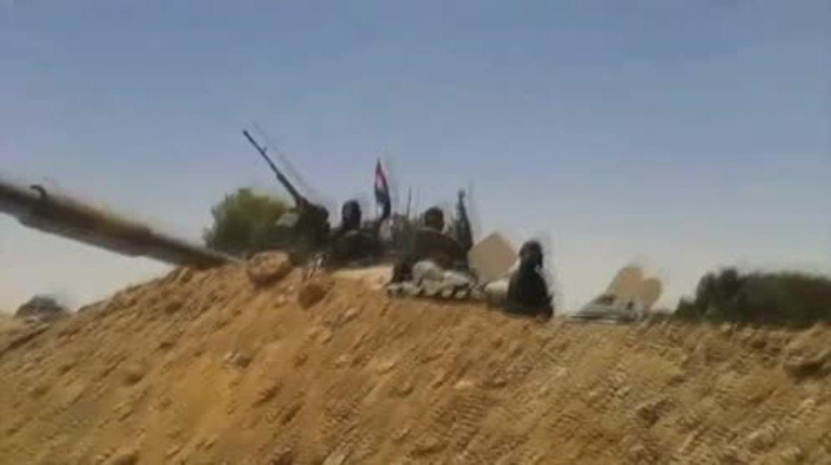 Syria: SAA and Hezbollah set up bases near Iraqi border