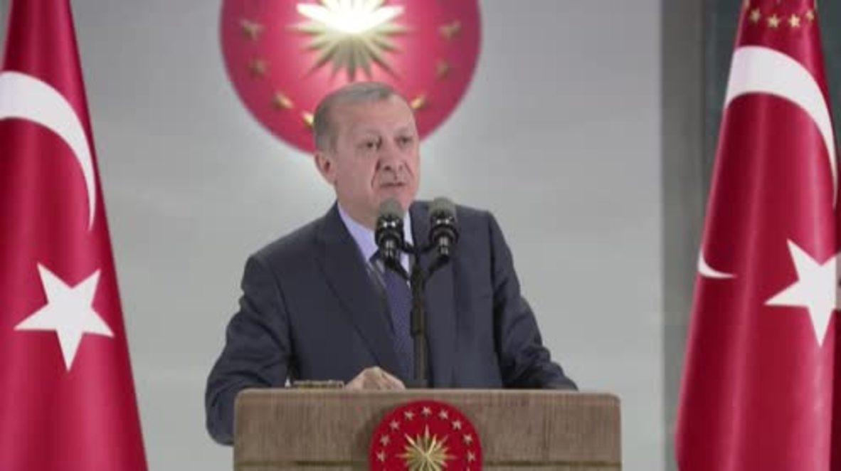 Turkey: Erdogan vows to fight US arrest warrants for his security guards