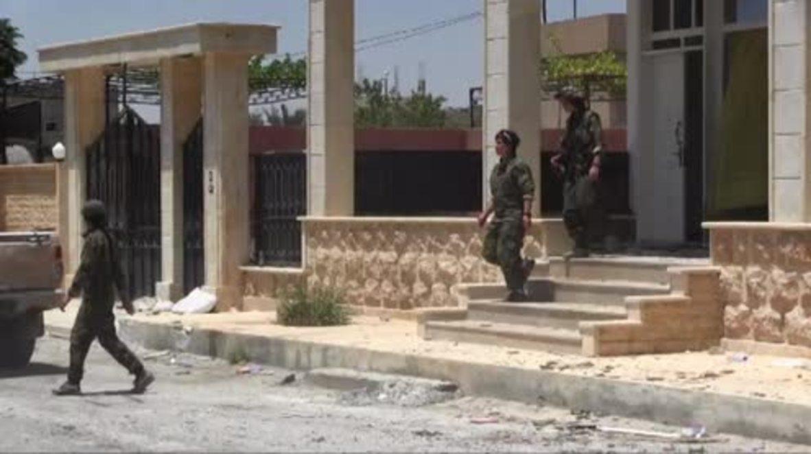 Syria: SDF liberate Bayatra neighbourhood from IS in Raqqa