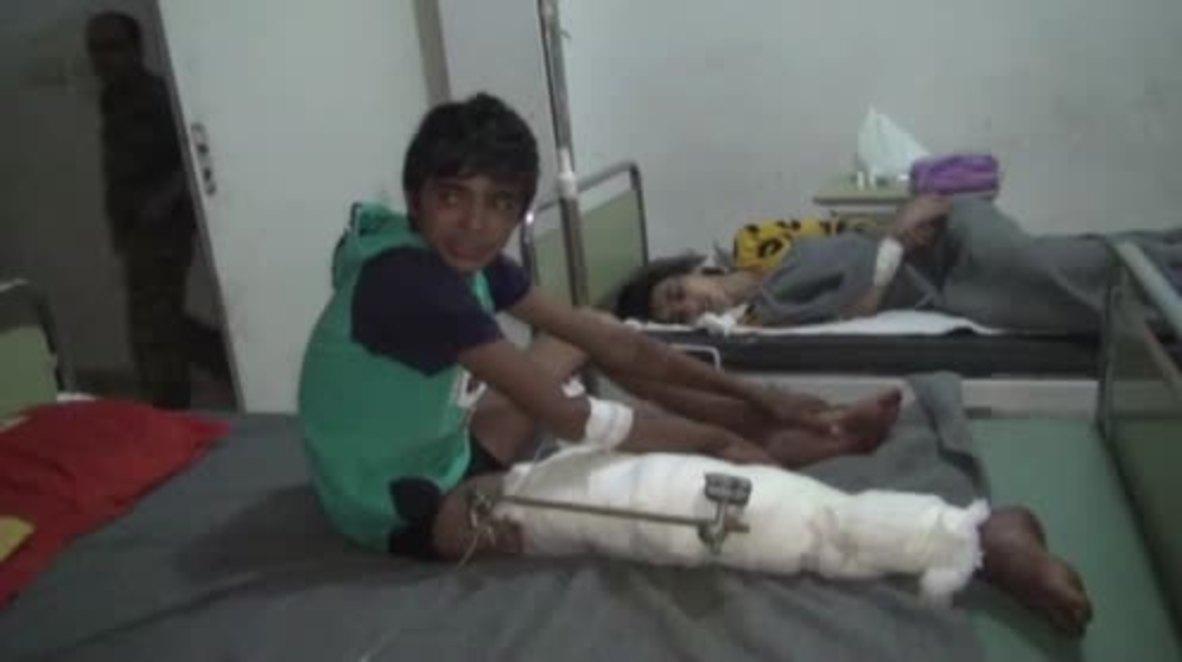 Syria: Raqqa civilians wounded while fleeing 'haphazard' coalition airstrikes