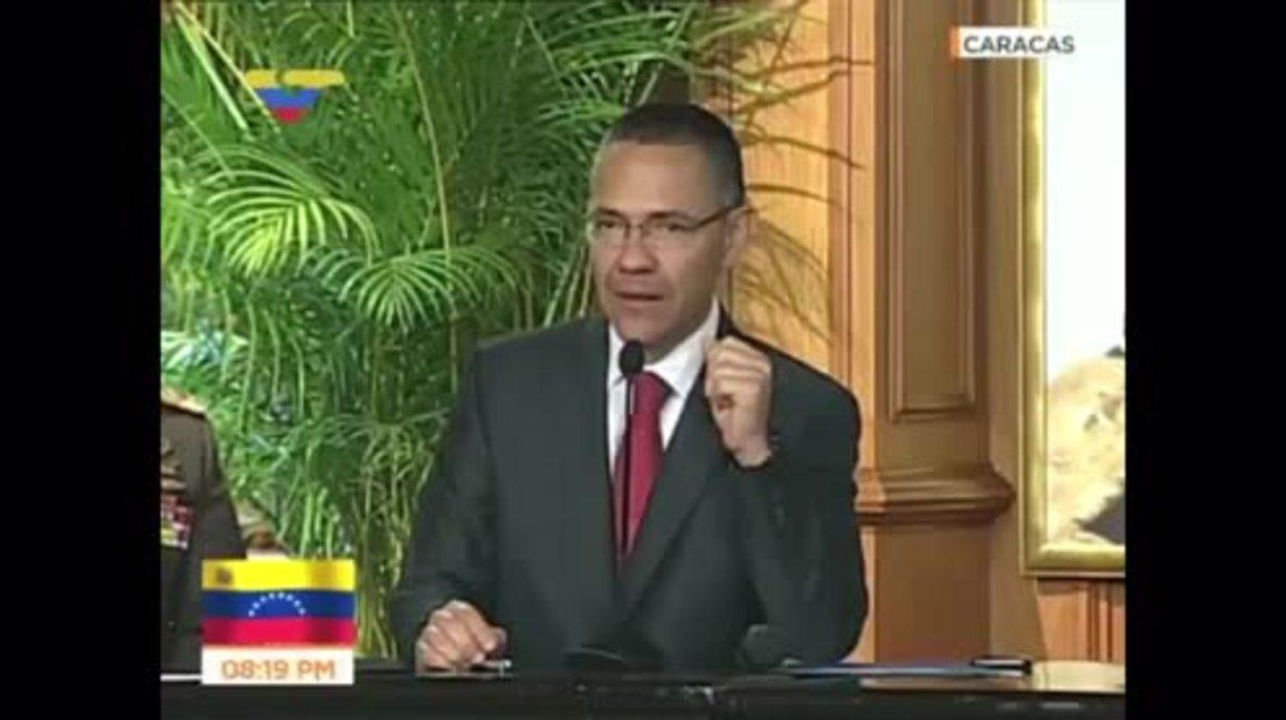 Venezuela: Maduro condemns 'terrorist attack' on Supreme Court and Interior Ministry