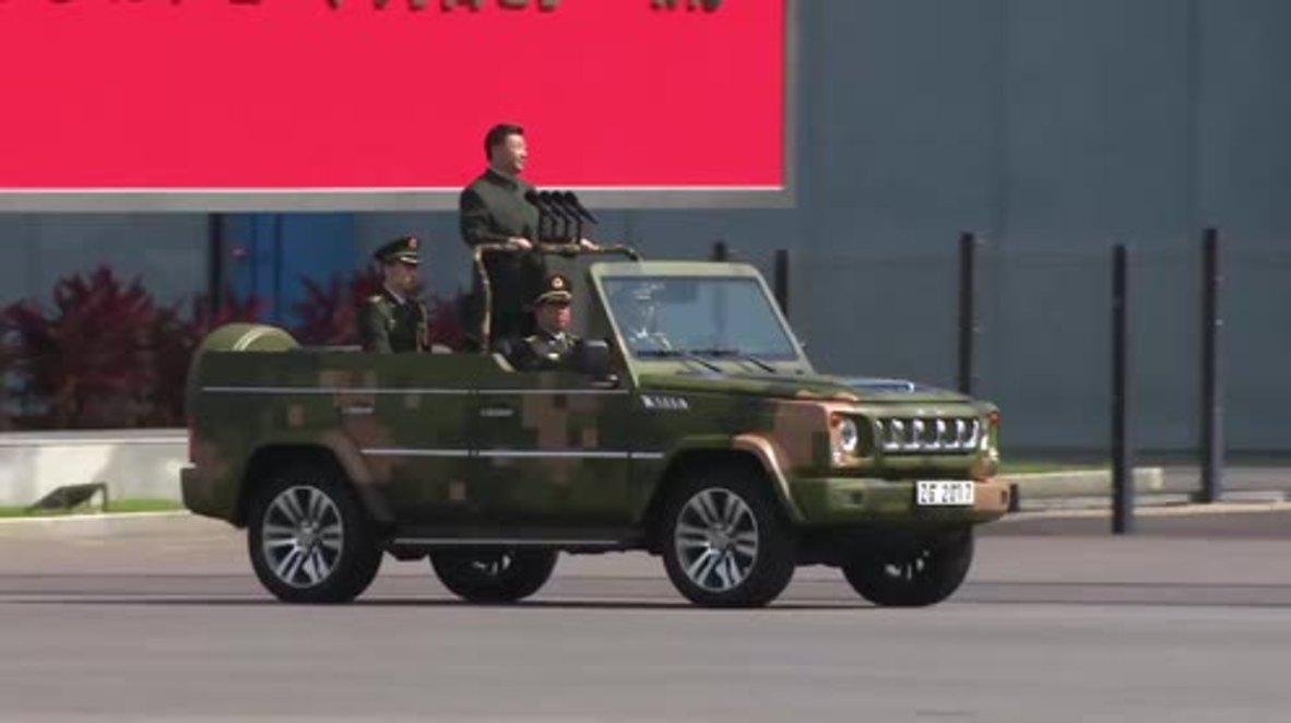 Hong Kong: Xi Jinping inspects over 3,100 PLA HK Garrison troops