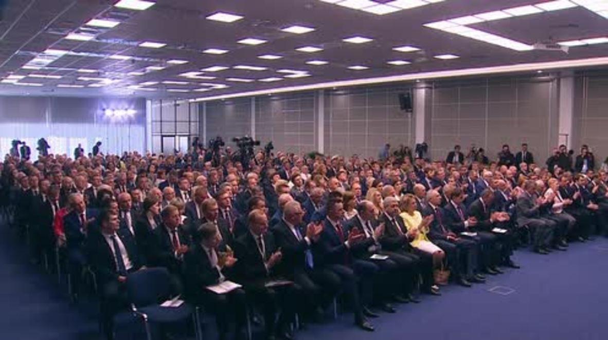 Russia: Putin, Lukashenko praise Russo-Belarusian cooperation