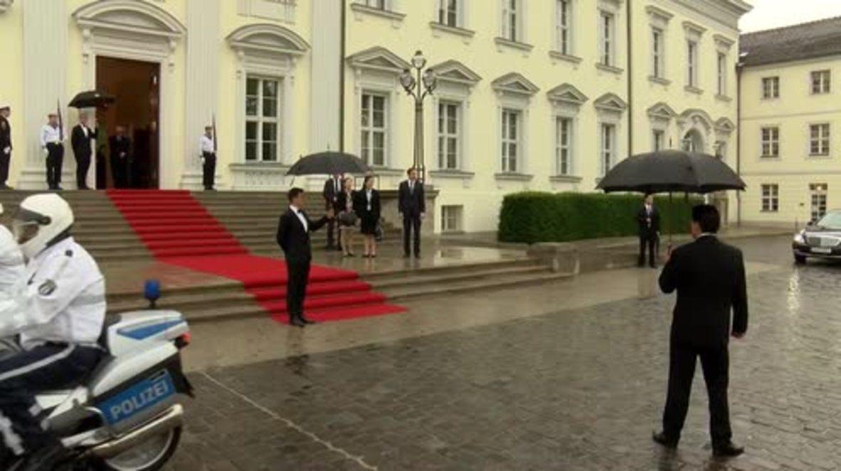 Germany: Steinmeier receives Jinping in Berlin ahead of G20 summit
